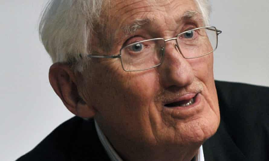Still tilting at adversaries in print … Jürgen Habermas.