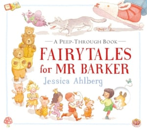 Fairy Tales for Mr Barker<strong> by Jessica Alhberg </strong>(Walker Books, £10)<br>Like her parents Janet and Allan Ahlberg before her, Jessica Ahlberg wittily transforms the fairy story. Jumping into another world through a neatly cut window in the page, Lucy finds Goldilocks in the Three Bears house. The bears are on their way home, so and Lucy helps Goldilocks to escape through the next window, calling on the Three Little Pigs. Soon Goldilocks, the Three Little Pigs and many others are hurrying back to Lucy's house for a very special kind of bedtime story. (3+)