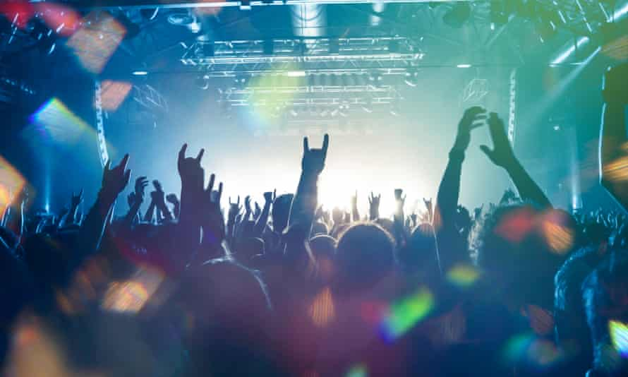 Festival crowds like these are under threat without government support, the sector says.