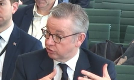 Michael Gove also said there was a question mark over the inaugural meeting of the EU-UK joint committee on 30 March.