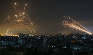 Rockets fired towards Israel from the northern Gaza Strip on Friday