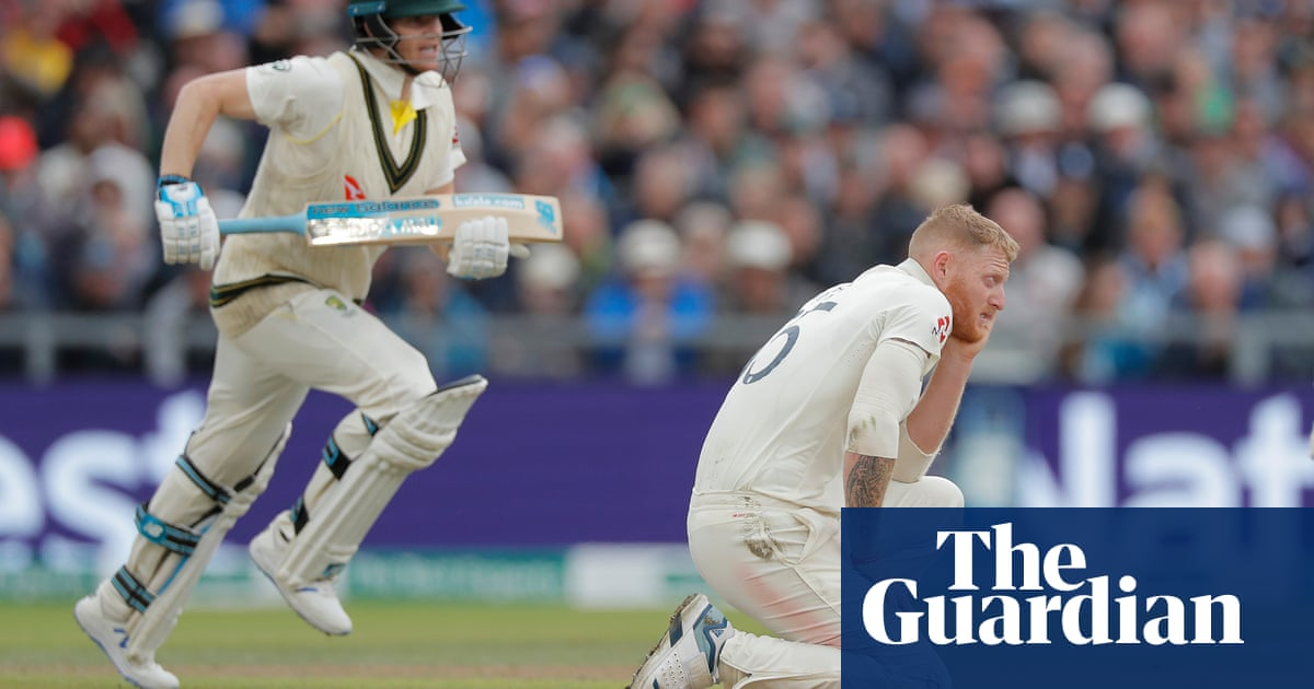 England's inept afternoon conjures dark memories of 90s Ashes failings   Barney Ronay