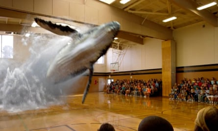 Magic Leap promises to let users superimpose calendars, pictures or animals over day-to-day life.