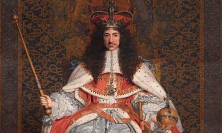 Картина 17-го века с изображением короля Карла II работы Джона Майкла Райта.