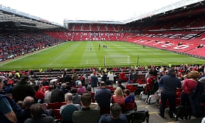 Manchester United's Old Trafford ground