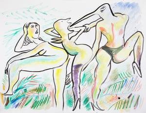 Camille Henrot's artwork My Anaconda Don't