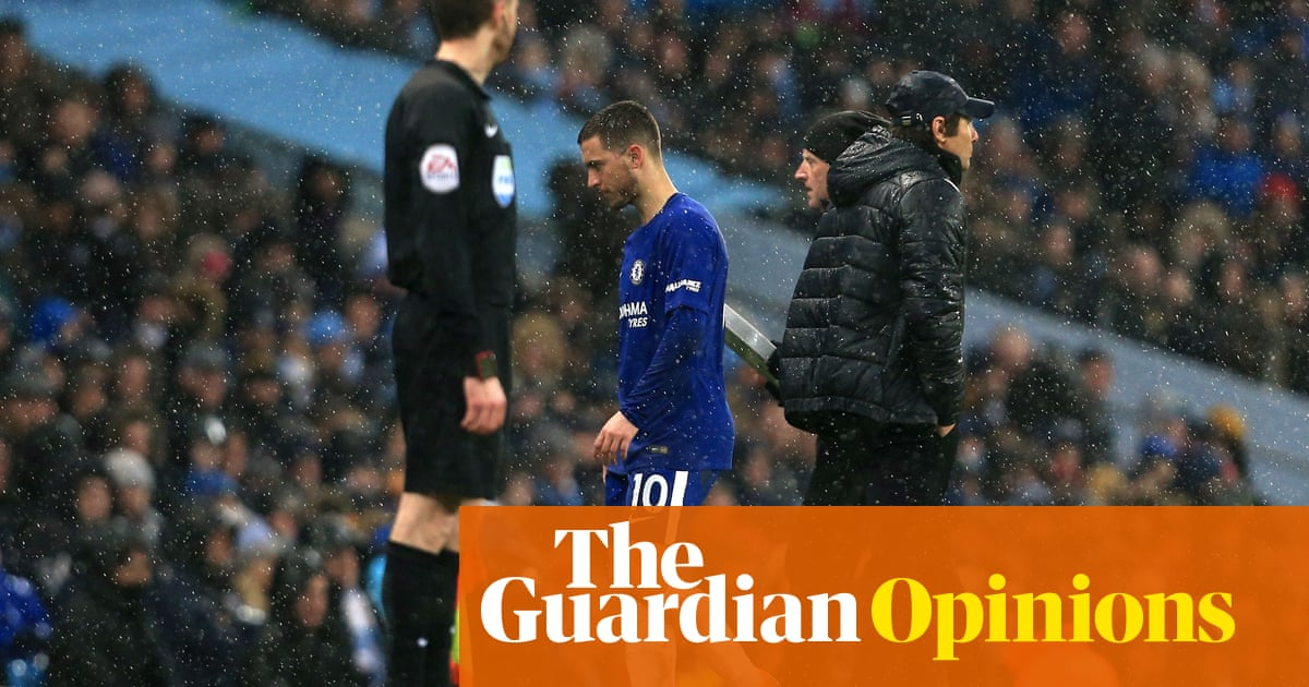 074d8f8e2bf Eden Hazard woe as Chelsea s false nine toils at Manchester City