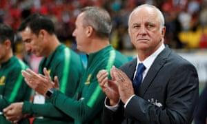 Australia coach Graham Arnold