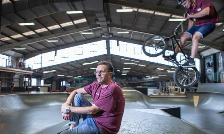 Jerry Norman says there are only a handful of skateparks with Rush's facilities.