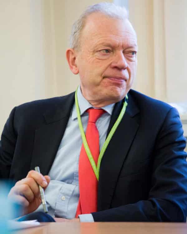 Philip Hunt, Labour's health spokesman in the Lords