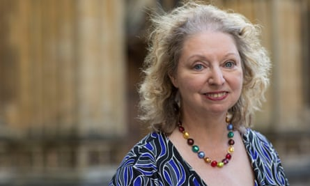 Dame Hilary Mantel, Booker prize winning author.