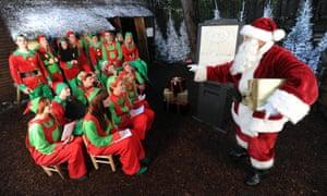 Elf school at Center Parcs in Elveden Forest, Suffolk.