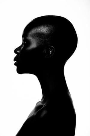 Black Diamond   Otagburuagu's striking, experimental imagery celebrates the strength of the black female body and the iridescent beauty of black skin. Black Diamond celebrates the boldness and beauty of African women. In this striking, monochromatic image, the protagonist's strong will and gleaming black skin take centre stage. Otagburuagu conveys African women as they are: true works of art.