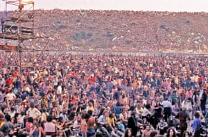 Inside the Isle of Wight 1970 festival site