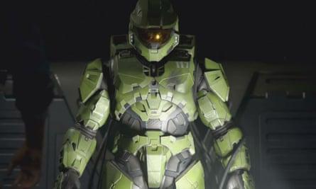 Pretty, green ... XBox exclusive Halo Infinite's Master Chief.