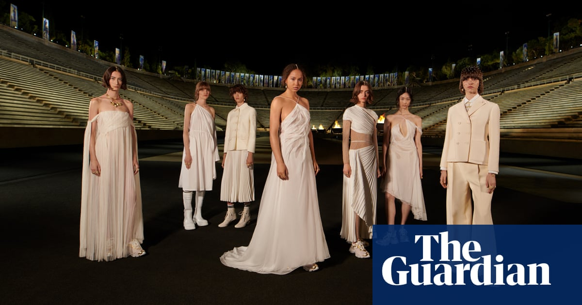Fashion returns to catwalks as Dior takes over Athens ancient stadium