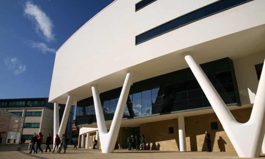 Huddersfield University's creative arts building