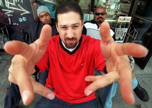 Cypress Hill, from left, Bobo, B-Real and Sen Dog.