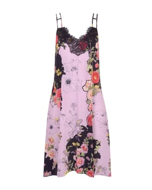 Floral slip, £55, by Studio by Preen, from debenhams.com