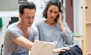 Varma plays Liz, the wife of matinee idol Garry Essendine (Andrew Scott), at the Old Vic in London.