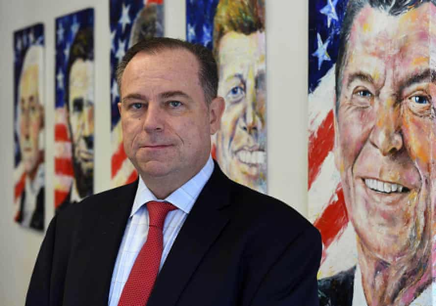 Chris Ruddy is the CEO of Newsmax, which briefly overtook Fox News in the ratings for the first time in December.