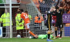 Curtis Tilt completes a dramatic comeback for Blackpool at home to Bradford.