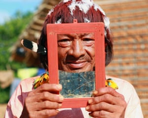 An Araweté man from Ipixuna village.