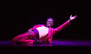 Samuel Edwards (Jackie Wilson) in Motown the Musical