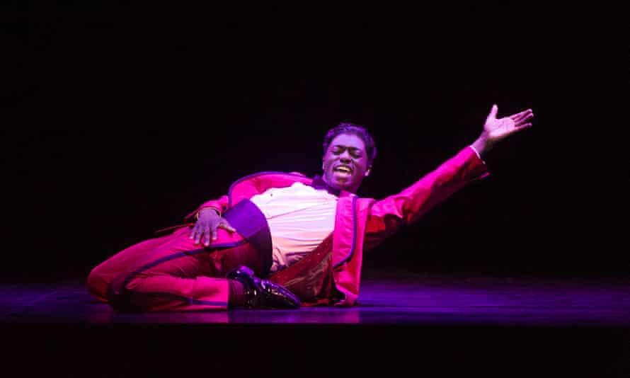 Samuel Edwards (Jackie Wilson) in Motown the Musical