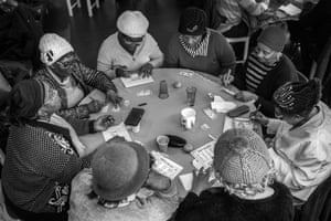 The Stockwell Good Neighbours play bingo, from Windrush generation portraits by Jim Grover