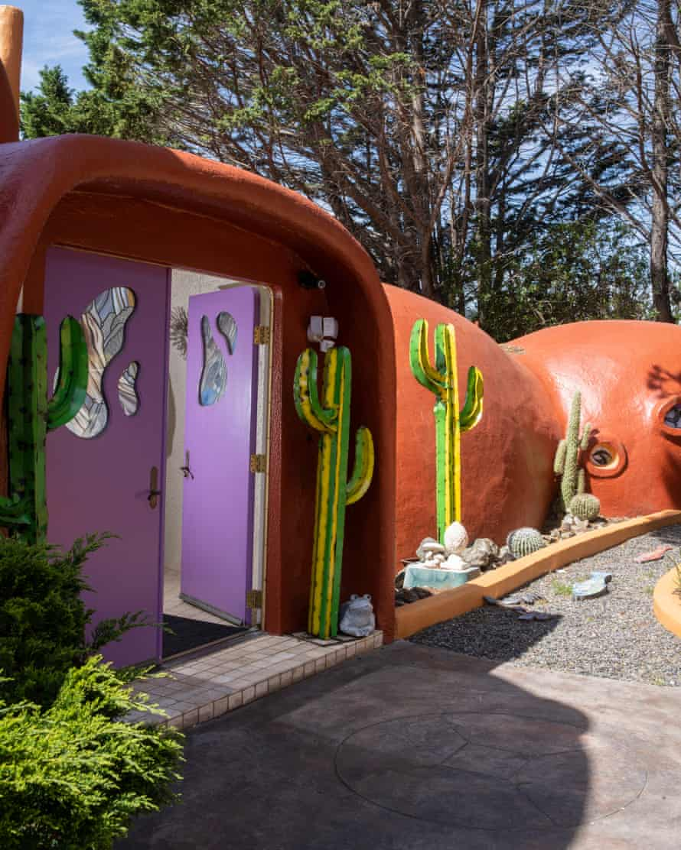 Florence Fang's home in Hillsborough, California.