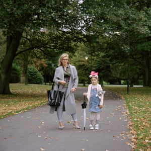 Silvia and Noemi in Dartmouth park, West Bromwich, October 2017.
