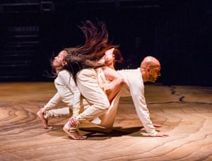 Ching-Ying Chien and Akram Khan in Until The Lions by Akram Khan Company at the Roundhouse
