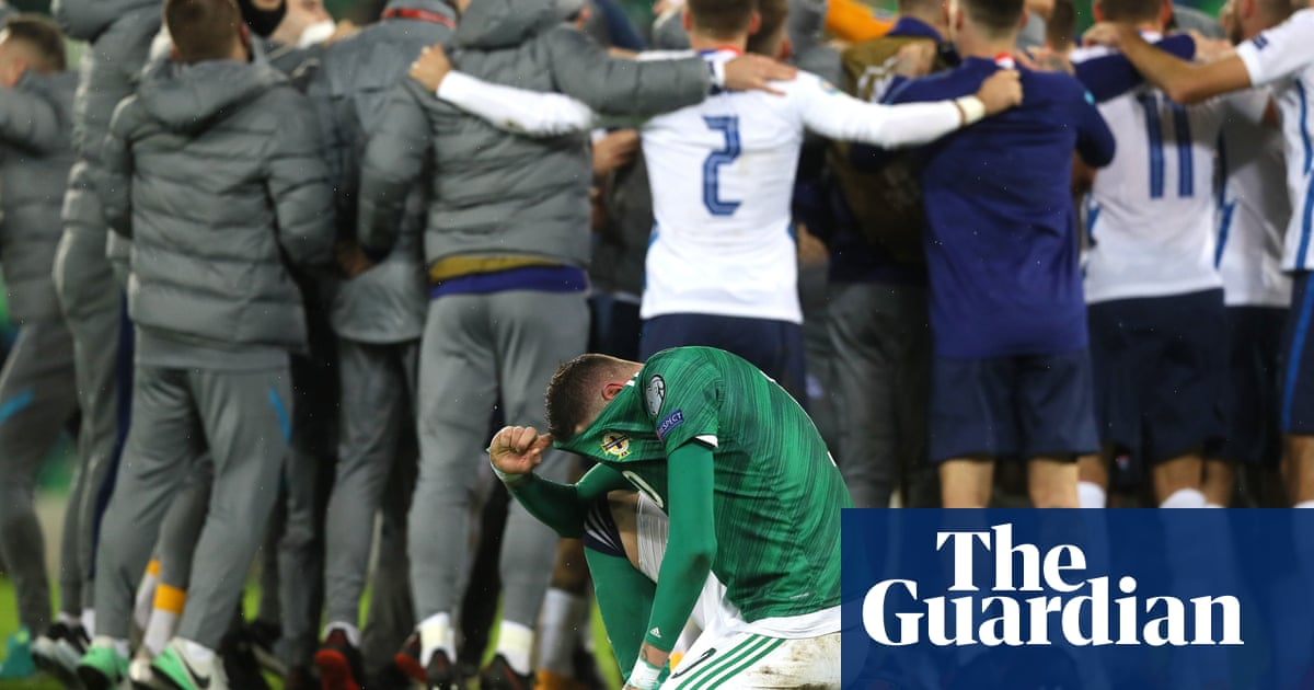 Northern Irelands Euro 2020 dreams shattered by Slovakia in extra time