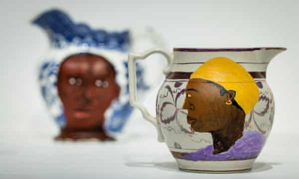 Swallow Hard: The Lancaster Dinner Service, 2007 by Lubaina Himid