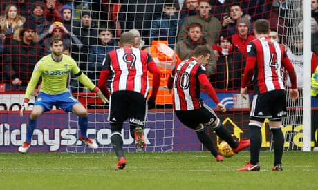 Billy Sharp punishes Leeds as Paul Heckingbottom gets off to losing start