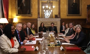 The prime minister Theresa May and opposition leader Jeremy Corbyn both face a tough task ahead.