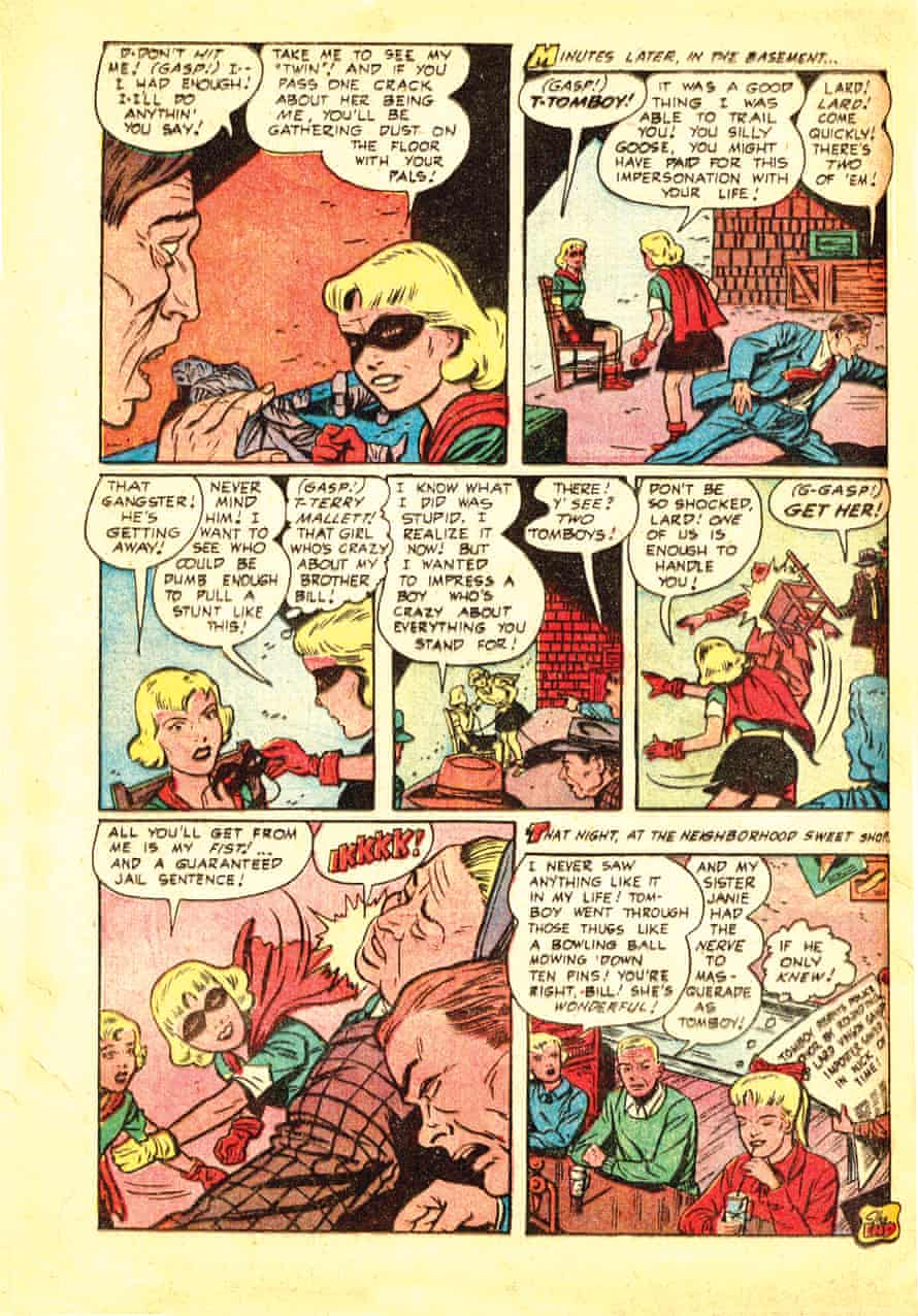 Tomboy comic from the 1950s