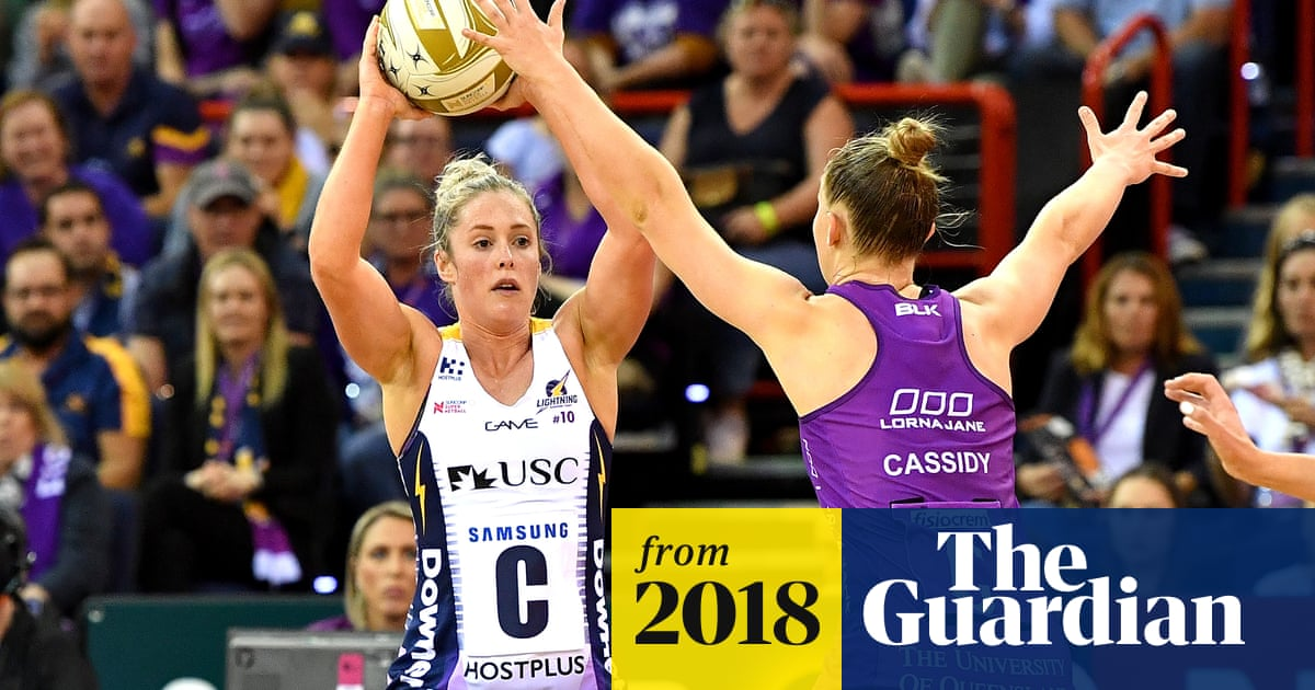 Super Netball: Lightning to face Giants in preliminary final
