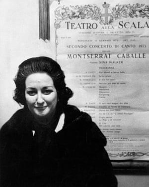 Montserrat Caballé in 1975