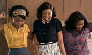 Janelle Monáe, Taraji P Henson and Octavia Spencer in Hidden Figures