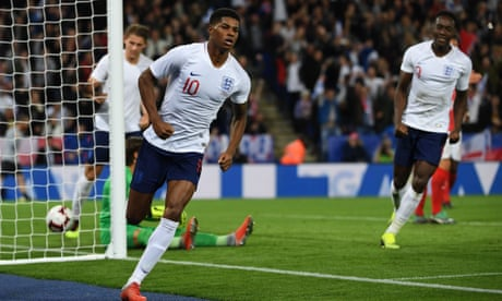 Marcus Rashford ends England's losing run in drab friendly against Switzerland