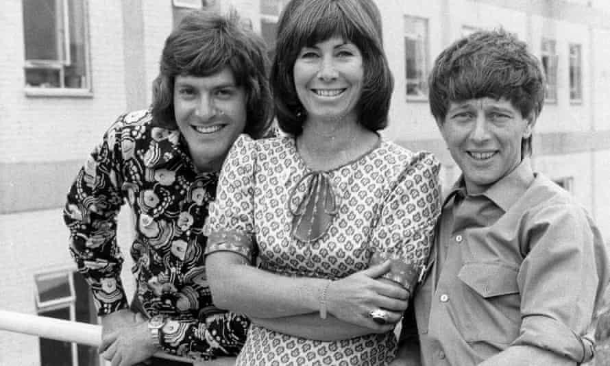 Noakes (right) with fellow Blue Peter presenters Peter Purves and Valerie Singleton