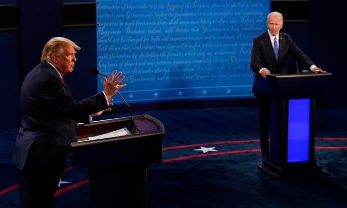 Biden mauls Trump's record on coronavirus in final presidential debate
