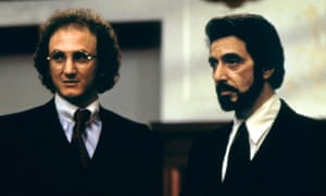 Sean Penn with Al Pacino in Carlito's Way.