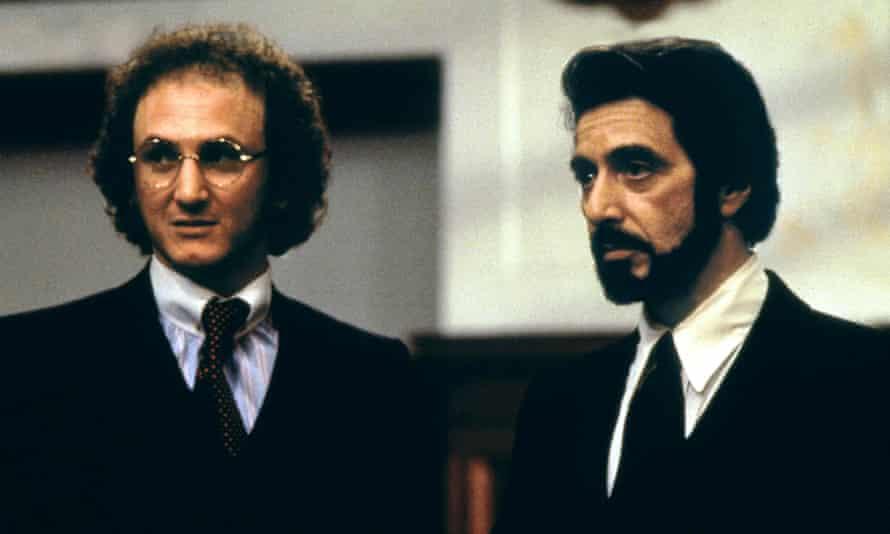 Sean Penn with Al Pacino in Carlito's Way.