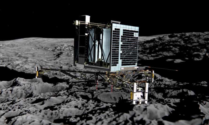 Artist's impression of Rosetta's Philae lander.