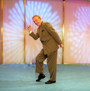 The human question mark pose … Bruce Forsyth.
