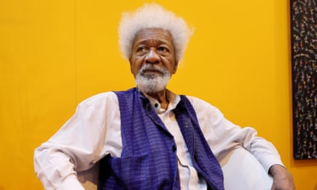 Wole Soyinka, pictured in Paris in 2017.