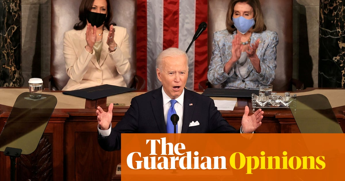 The first 100 days of Biden were also the first 100 without Trump – that's telling